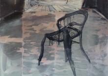 vreemde stoel